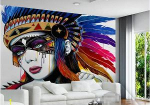 Wall Murals India Online European Indian Style 3d Abstract Oil Painting Wallpaper