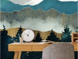 Wall Murals Made From Photos forest Mist Teenage Bedroom Ideas In 2019