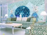 Wall Murals Made to Measure Europea Luxury 3d Stereoscopic Mermaid Wallpaper Murals Custom 3d