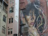 Wall Murals Melbourne A Woman Overlooks Melbourne Victoria Australia Danielle Maingot