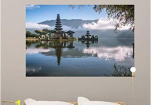 Wall Murals Near Me Amazon Wallmonkeys Od Temple Bali Indonesia Wall Mural Peel and