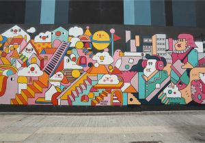 Wall Murals Near Me the Best Street Art In Hong Kong