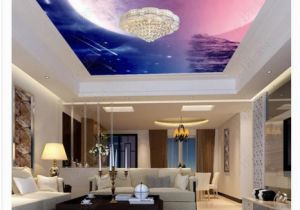 Wall Murals Night Sky 3d Ceiling Custom Zenith Mural Wallpaper Fantasy Night Sky Meteor Hotel Lobby Living Room Ceiling Zenith Mural Wall Sticker Wallpapers