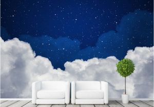 Wall Murals Night Sky Night Sky Wallpaper Galaxy Wallpaper Custom 3d Clouds