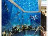 Wall Murals Ocean Scenes 3d Ceiling Murals Wallpaper Ocean World 3d Stereoscopic theme Space