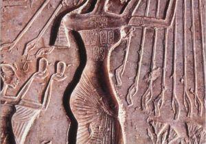 Wall Murals Of Amenhotep and Nefertiti 1320 Section 10 Akhenaten and Monotheism