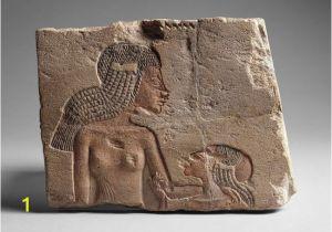 Wall Murals Of Amenhotep and Nefertiti Princess Meritaten Daughter Of Akhenaten and Nefertiti 18th