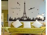 Wall Murals Of Paris Bedroom Home Television Wall Art Decorations Wallpaper New Creative