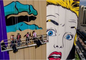 Wall Murals On Buildings Buildings Be E Canvases In Las Vegas Explosion Of Murals