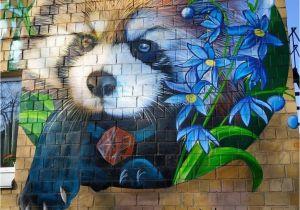 Wall Murals On Buildings Street Art by Gide1 In 2019