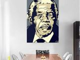 Wall Murals Price In India Buy Furnish Marts Nelson Mandela Extra Unframe Jumbo