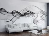 Wall Murals Price In India Smoke Fog Wallpaper Modern Wall Mural 3d View