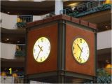 Wall Murals Raleigh Nc the Clock In the Lobby Picture Of Embassy Suites by