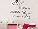 Wall Murals Removable Vinyl Amazon Wall Sticker Cute Dog Wall Art Vinyl Removable