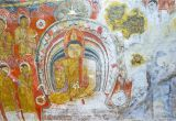 Wall Murals Sri Lanka Dambulla Sri Lanka November 27 2016 the Ancient Murals On