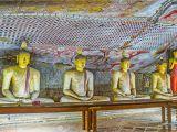 Wall Murals Sri Lanka Dambulla Sri Lanka November 27 2016 the Stone Statues Of