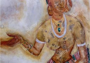 Wall Murals Sri Lanka Replica Of the Famous Wall Paintings at Sigiriya Sigiriya