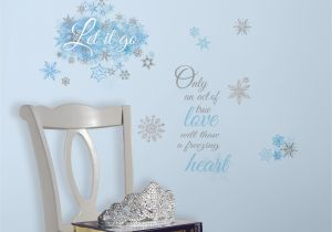 Wall Murals Stick On Disney Frozen Let It Go Peel and Stick Wall Decals