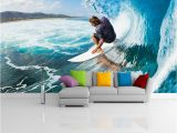 Wall Murals Surfing Custom Murals 3d Surfing Wallpapers House Decor Wall Paper