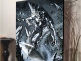 Wall Murals Surfing Silver Surfer On Canvas Wall Decor Pinterest