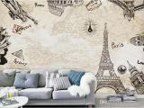 Wall Murals Sydney Europe Paris the Eiffel tower Wallpaper Murals Living