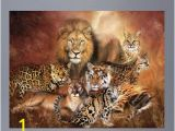 "Wall Murals Tampa Fl Wallhogs Cavalaris Cat Power Poster Wall Mural Size 36 5"" H"