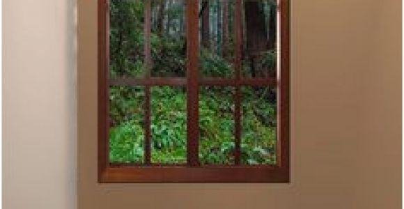 Wall Murals that Look Like Windows Faux Window at End Of Hallway