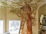 Wall Murals Trompe L Oeil Cindy and Jorge S Work A Trompe L Oeil Tree House In A