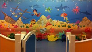 Wall Murals Under the Sea Kids Playroom Underwater Wall Mural theme