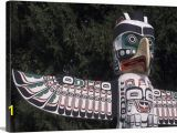 Wall Murals Vancouver Bc Canada Bc Vancouver Native American totem Pole In Stanley