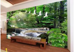 Wall Murals Wallpaper Cheap 3d Wallpaper Custom 3d Wall Murals Wallpaper Dream Mori Waters Landscape Painting Living Room Tv Background Wall Papel De Parede Wallpaper High