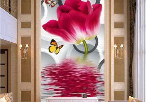 Wall Murals Wallpaper Cheap Cheap Flower House Wallpaper Buy Quality Flowering Hostas