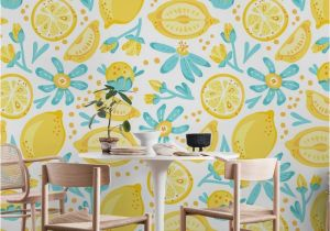 Wall Murals Wallpaper Cheap Lemon Pattern White Wall Mural Wallpaper Patterns