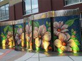 Wall Murals Wichita Ks Block E Pocket Park Water Wall Wichita Kansas