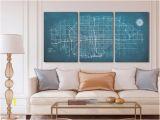 Wall Murals Wichita Ks Wichita Panoramic Map Stretched Canvas Wall Art Chalkboard