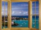 Wall Murals Window Scene Window Mural Google Search Decor Ideas Pinterest