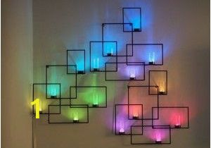 Wall Murals with Lights 76 Diy Wall Art Ideas for Those Blank Walls