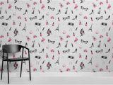 Wall Paper Murals Uk Fashion Illustration Wallpaper Mural