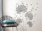 Wall Pops Murals and Decals 39 In X 17 25 In Dandelion Breeze Wall Decal
