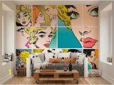 Wall Pops Murals and Decals Wallpaper Wall Murals Pop Art Wall Decals Bedroom
