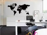 Wall Size World Map Mural ✤od✤diy Removable World Map Vinyl Wall Sticker Decal Mural Art Fice Home
