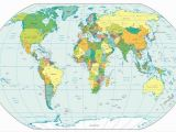 Wall Size World Map Mural Detailed World Map Wallpaper Mural