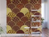 Wall Sized Mural Posters African Terracotta Scale Wall Mural by Peachydesigns