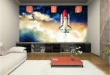 Wall Sized Mural Posters Details About Space Shuttle Wallpaper Mural Boy Room Cosmos