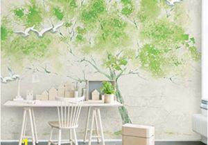Wall Sized Mural Wallpaper Mural Custom Any Size 3d Mural Wallpaper Green Embossed