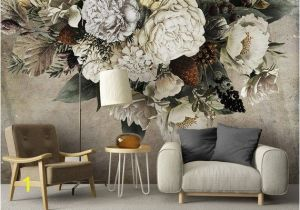 Wall Sized Mural Wallpaper Oil Painting Dutch Giant Floral Wallpaper Wall Mural