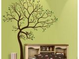 Wall Stickers and Murals Details About Large Tree Brown Green Wall Decal Art Sticker
