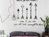 Wall Stickers and Murals Text Quotes Aim for the Moon Wall Art Sticker Mural Decal