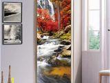 Wall Tile Murals Uk S Twl E Modern Creative Flowing Door Decals Decorated Living