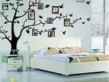 Wall Tree Mural Stencils Family Tree Wall Decal Peel & Stick Vinyl Sheet Easy to Install & Apply History Decor Mural for Home Bedroom Stencil Decoration Diy